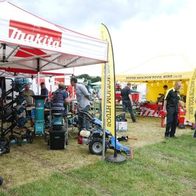 south molton tool hire and makita at the North Devon show 2013